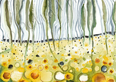 Sonnenblumenfeld Toscana